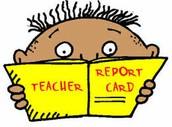 Report Card Friday, November 8th