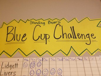 Blue Cup Challenge!