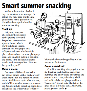 Smart Summer Snacking