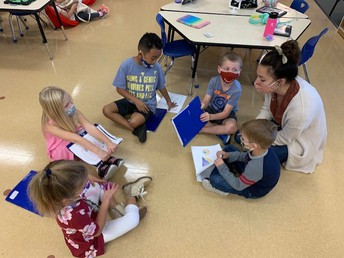 Small group with Mrs. Lamb
