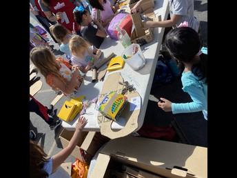 More Cardboard Playground Lunchtime Fun