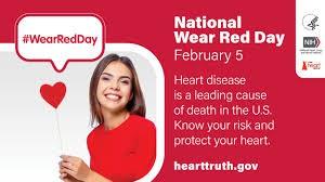 ¡El 5 de febrero es el Día de la Conciencia ROJA!