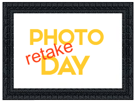 Picture Re-take Day For Lyon and Pleasant Ridge is Friday, November 1st.