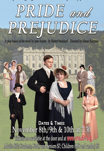 SAVE the DATE: Production of Pride & Prejudice