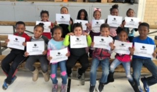 K-5 scholars were celebrated for following our F.I.R.E expectations.