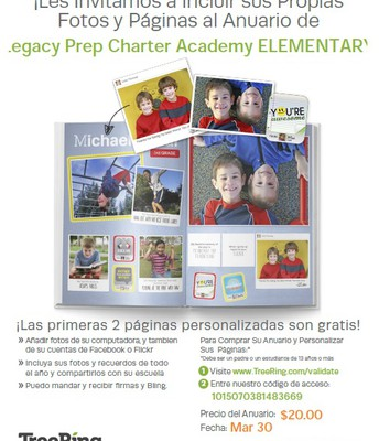 Yearbook Flyer-Elem. Spanish