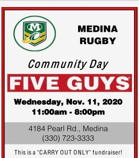 Medina Rugby Fundraiser