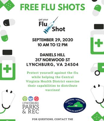 Daniels Hill Flu Shot Clinic