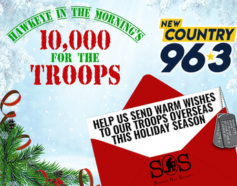 10,000 for the Troops