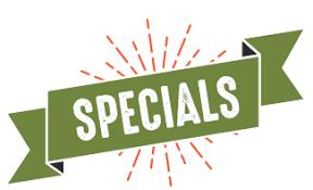 Specials Newsletter!