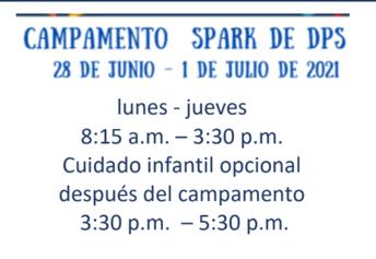 Campamento Spark de DPS