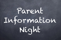 UPK and Elementary Parent Information Nights