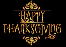Time's Up! Have a Great Thanksgiving!
