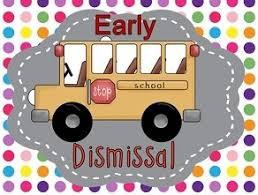 Reminder Early Dismissal - Friday, April 3rd