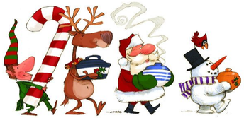 """PTO Hospitality to help with the """"12 Days of Christmas"""" for CPES staff  - December 5th -19th"""