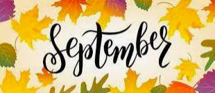 Week of September 21 - 25