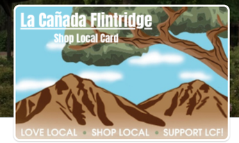 La Cañada Flintridge Shop Local Gift Cards