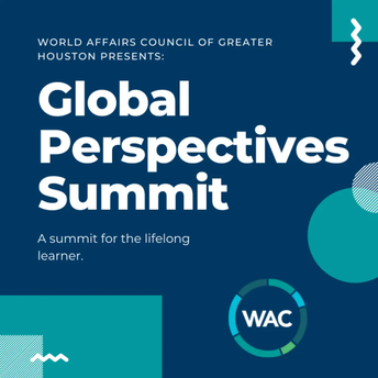 Center for Advanced Careers teacher Ana Shah will be participating in a panel discussion in conjunction with the World Affairs Council of Greater Houston.
