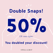And let's here it for all who qualified to earn their 4% in Product Credit, their Double Discount for this month's Style Drop, and on their way to their Consistency Bonus of an additional 100 in PC!
