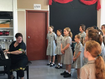 Choir Rehearsal - Wednesday Morning