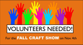 Volunteers Needed for Craft Show