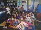 Visits Second Grade!