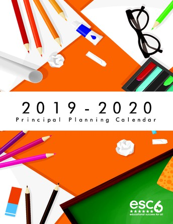 Gpc Calendar 2020 Region 6 Education Service Center
