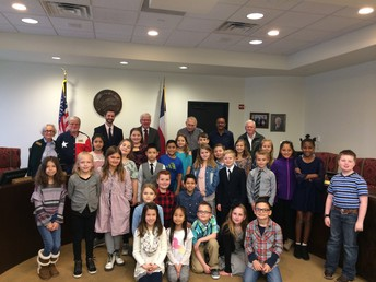 3rd grade Gateway students travel to City Hall