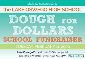flyer for dough to dollars fundraiser