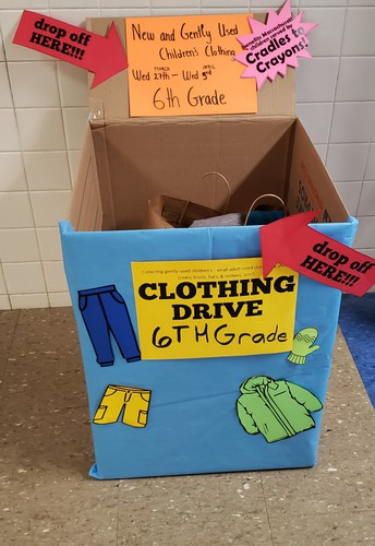 CRadles to Crayons Clothing Drive