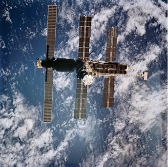 This Day In History:  March 14, 1995 - First Time To Have 13 People In Space