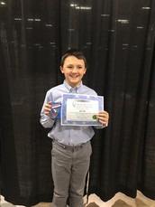 DMS Student competes with the best in the tri-state!