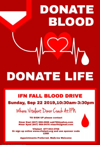 IFN Fall Blood Drive