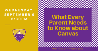 SAVE THE DATE: What Every Parent Needs to Know about Canvas