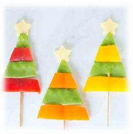 Vegetable Christmas Trees