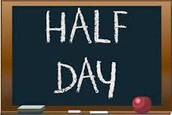 Half Day for Students on March 31st