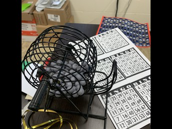Whole-School Bingo brought cheers of excitement from classes!