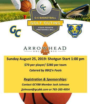 Golf Outing for GC Basketball