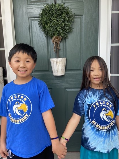 It is great to see the Yung Family, excited about the beginning of the year, sporting their Fulton gear and our friendship bracelets!