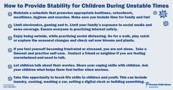 Prevent Child Abuse TIp Sheet