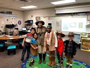 Explorer Day in 1st Grade