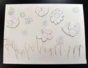 Sketch progress by Khadija