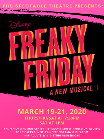 PHS Spring Musical:  Freaky Friday