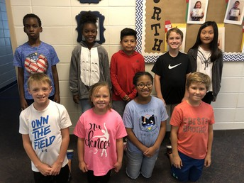 Fourth Grade Leaders