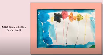 New Lebanon School Artists displayed their work in a virtual display