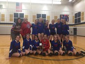 8th Grade Girls Volleyball County Champs!