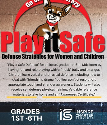 Play It Safe Defense for Children in Grades 1st-6th