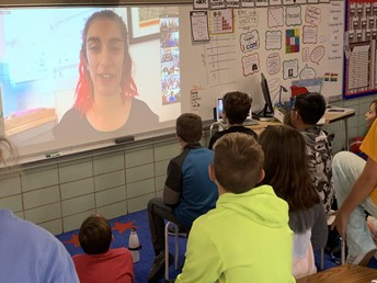 5th Graders Learn from a NASA Engineer