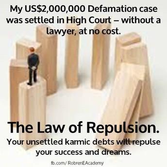 Robren recent amazing Law of Repulsion Story