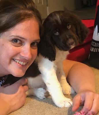 Miss Dean Adopted a New Friend!